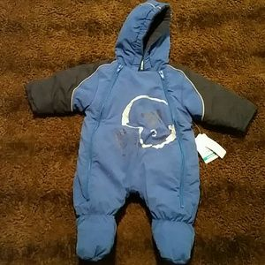 Boys Newborn snowsuit by Okie dokie